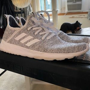 Adidas (Used) white/gray sneakers